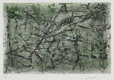 Jean-Paul Riopelle, 'Glauque', 1967