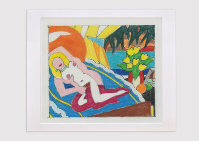 Tom Wesselmann, 'Study for Sunset Nude (Knees Up)', 2003