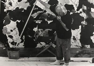 Kurt Blum, 'Sam Francis in his studio', 1980
