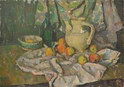 Valery Borisovich Skuridin, 'Still life with peaches and jar', 1975