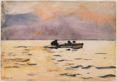 Winslow Homer, 'Rowing Home', 1890