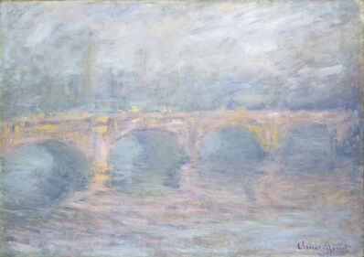 Claude Monet, 'Waterloo Bridge, London, at Sunset', 1904