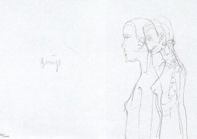 Joseph Beuys, 'Leonardo Codice Madrid II', 1975