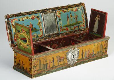 Zerda, 'Almohadilla or sewing box', Late 18th Century-early 19th Century