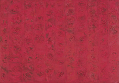 Ralph Wickiser, 'Compassion Red', 1955