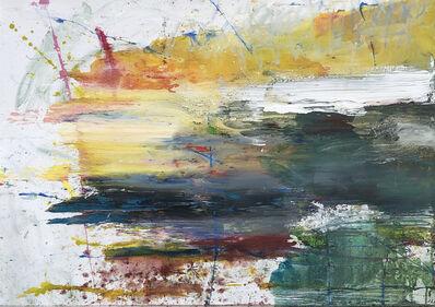 Ioan Sbarciu, 'Transylvanian landscape (Sunlight),'