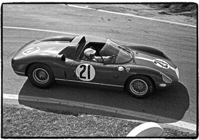 Al Satterwhite, 'Lorenzo Bandini driving #21 Ferrari 330P, Sebring 12-Hour Race Sebring, FL', 1964