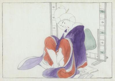 Unknown, 'Japanese Shunga, Sitting Woman', ca. 1922