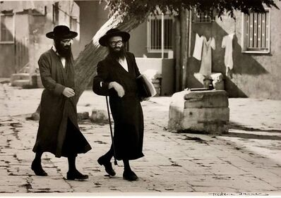 Frédéric Brenner, 'Dans le Quartier Hongrois de Mea Shearim, Jerusalem Vintage Silver Gelatin Print', 1970-1979