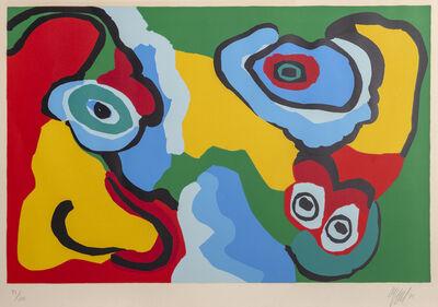 Karel Appel, 'Sunny Beach Life', 1974