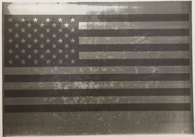 Rubén Ortiz-Torres, '4th of July Barbecue Flag', 2017