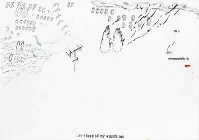 Samson Young 楊嘉輝, 'Landschaft (1415, 19 Jan 2020, from study hall steps looking out) & Landschaft (0954, 21 Jan 2020)', 2020