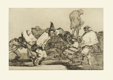 Francisco de Goya, 'De la serie Proverbios'