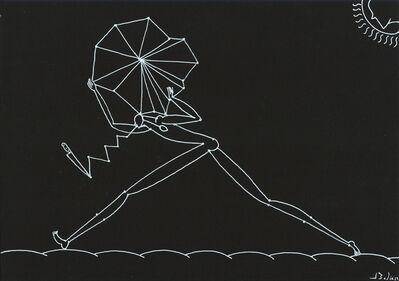 José Bedia, 'Cronología de las noches', 2019