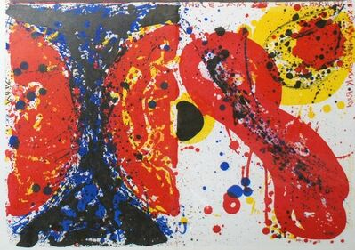 Sam Francis, '1¢ Life (Left) and Uncle Sam Loves Marilyn (Right)', 1964