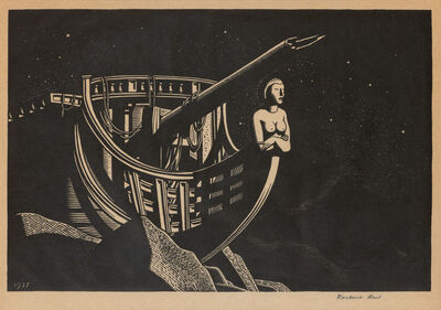 Rockwell Kent, 'IMPERISHABLE (BURNE JONES 16)', 1927