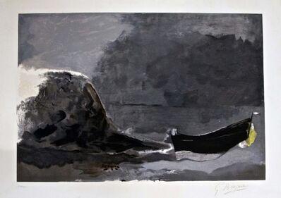 Georges Braque, 'Marine Noire', 1956