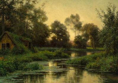 Louis Aston Knight, 'The Winding River, Beaumont'