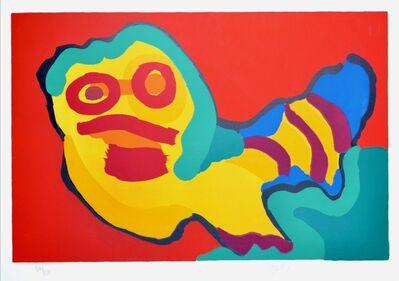 Karel Appel, 'Sunshine people', 1974
