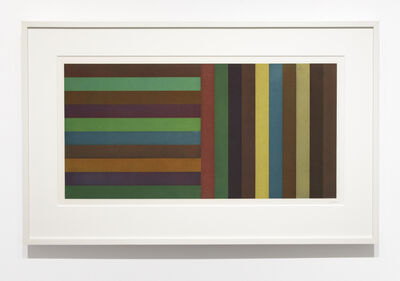 Sol LeWitt, 'Horizontal Color Bands and Vertical Color Bands', 1991