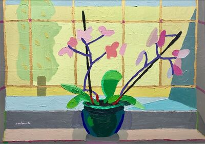 Sam Wadsworth, 'Orchid in Green Bowl', 2017