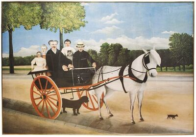 Henri Rousseau, 'Promenade a la Campagne', 1974