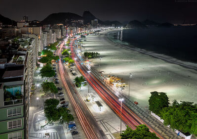 Andrew Prokos, 'Copacabana at Night', 2014