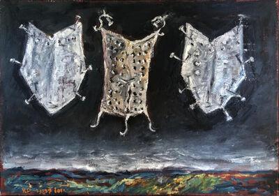 Yosl Bergner, 'Siblings', 2012