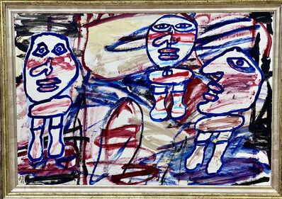 Jean Dubuffet, 'Le rendez-vous', 1982