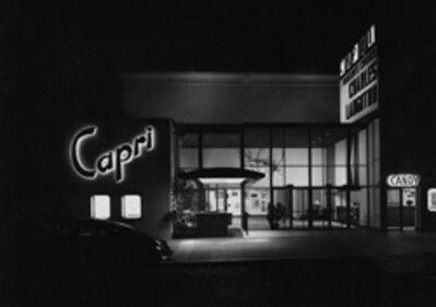 Julius Shulman, 'Capri Theater. San Diego, Ca. ', 1954