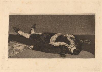 Édouard Manet, 'Dead Toreador (Torero mort)', 1868