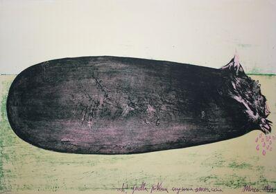 Mattia Moreni, 'Ah! Quella povera anguria americana', 1971