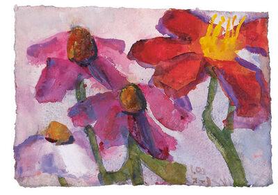 Klaus Fussmann, 'Echinacea und Taglilien', 2003
