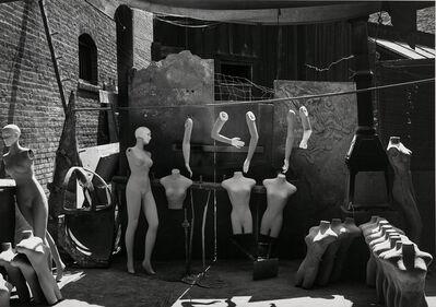 Ansel Adams, 'Mannequins, Columbia Movie Lot, Los Angeles, California', ca. 1940