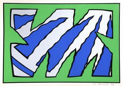 Nicholas Krushenick, 'Green Machine', 1982