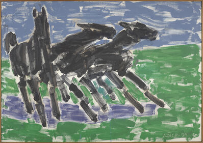 Stephen Pace, 'Wild Horses (96-6)', 1996