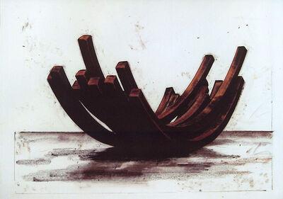Bernar Venet, '97.5º Arc x 10', 2004
