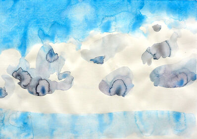 Cony Theis, 'Wolken 4', 2019