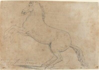 Jacques-Louis David, 'An Antique Sculpture of a Horse', 1780