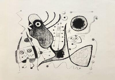 Joan Miró, 'Barcelone XXXXIX (M. 54)', 1944