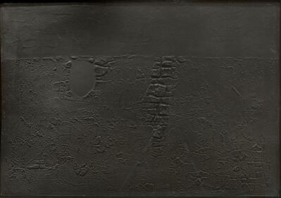 Alberto Burri, 'Alberto Burri, Cretto B, etching, aquatint, embossing, signed, 1971', 1971