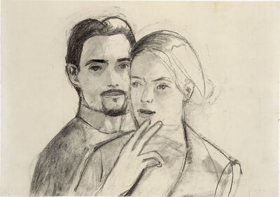 Alex Katz, 'Juan and Oona', 2004