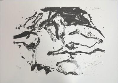 Willem de Kooning, 'Woman in Amagansett', 1971