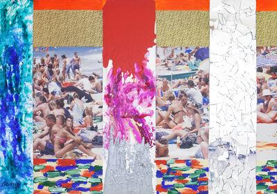 Bedri Baykam, 'Paradise Beach', 2014