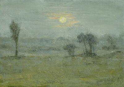 Albert Hadjiganev, 'Couchant gris'