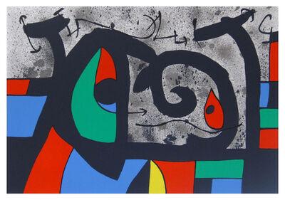 Joan Miró, 'Le Lezard aux Plumes d'Or (809)', 1971