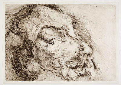 Marwan (Marwan Kassab-Bachi), 'Face landscape V', 1975