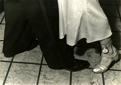 "Alfred Eisenstaedt, 'Feet doing the dance step ""Girls""', ca. 1935"