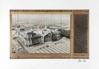 Christo, 'Reichstag X', 1990-2000