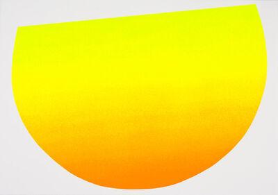 Rupprecht Geiger, 'Gelb zu Orange', 2007